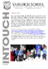 InTouch School Newsletter 30 July 2020